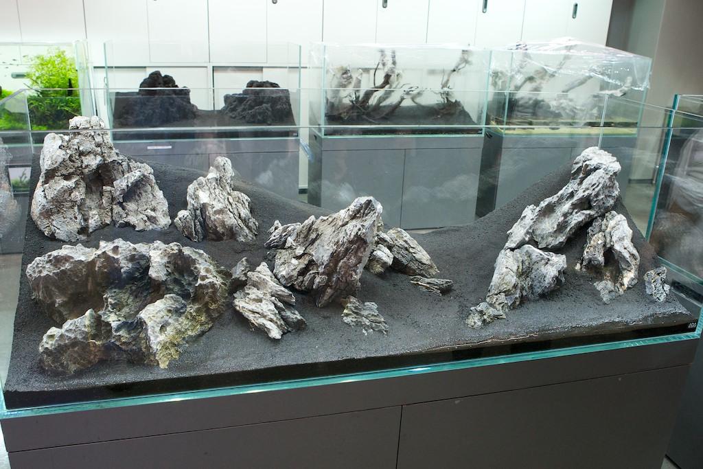 Ada View 406 Iwagumi Style Nature Aquarium Using Ryuoh Stones Miyabi Aqua Design